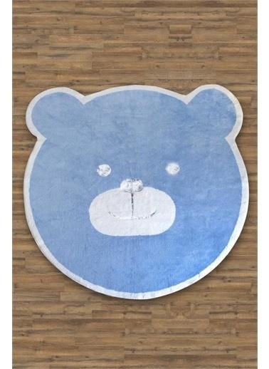 HC&W Kids Çocuk Halısı 150x150 cm - Bonny Mavi Mavi